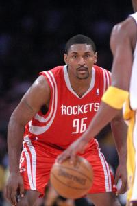 Ron Artest  Former Team - Houston Rockets Expected Team - Los Angeles Lakers