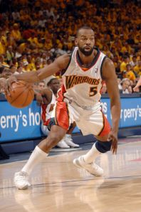 """Baron Davis """"B-Diddy"""" 6 ft. 3 inches 225lbs Los Angeles, CA University of California at Los Angeles (UCLA) 10 Year NBA Vet Claim To Fame : One of the few PG's with the ability to make multiple posters out of you, within the same move"""