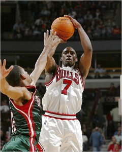 Ben Gordon Former Team - Chicago Bulls Expected Team - Detroit Pistons