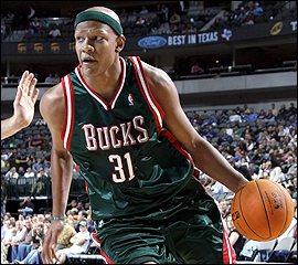 Charlie Villanueva Former Team - Milawukee Bucks Expected Team - Detroit Pistons