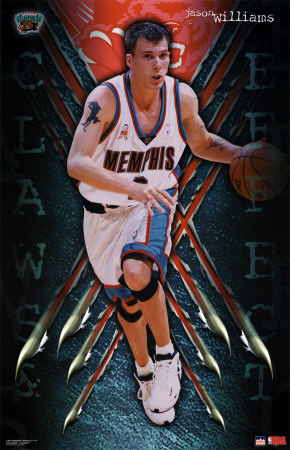 "Jason Williams ""White Chocolate"" 6 ft. 1 inch 190lbs Belle, West Virginia University of Florida 10 Year NBA Vet Claim To Fame : Making the Sacremento Kings an entertaining team, and leaving Gary Payton frozen in awe"