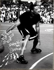 """Rafer Alston """"Skip To My Lou"""" 6 ft. 2 inches 175lbs Queens, NY Fresno State University 10 Year NBA Vet and NYC Playground Legend Claim To Fame : Making the And One Mixtape The Mecca Of Streetball Documentaries"""